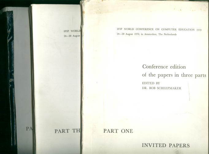 Photo of conference papers