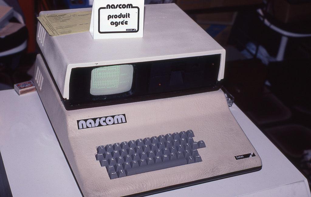 Nascom computer